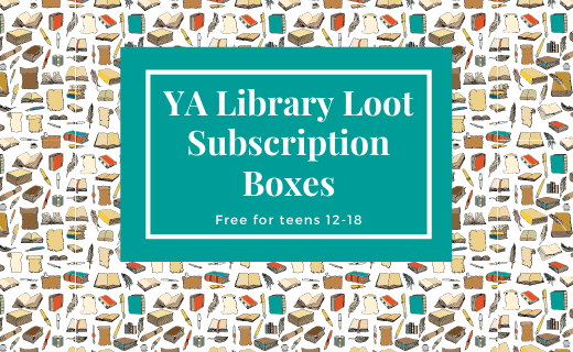 YA Library Loot Subscription Boxes